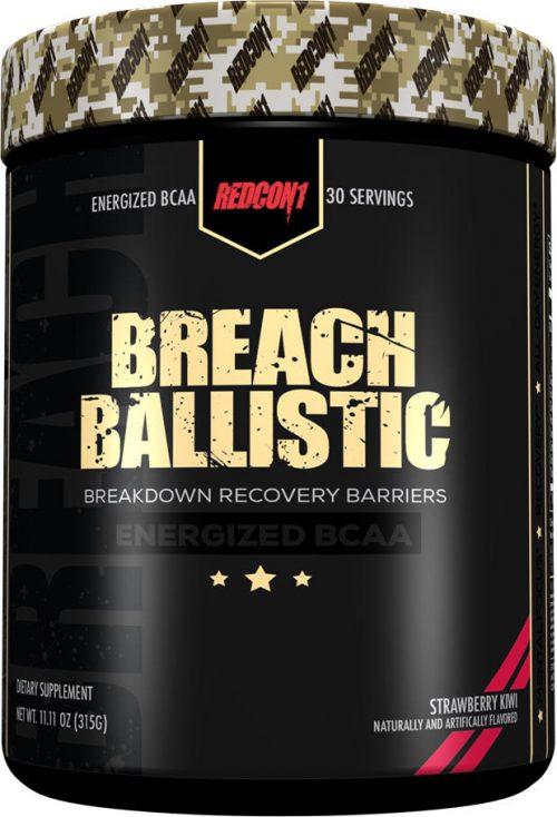 RedCon1 Breach Ballistic - 30 Servings Strawberry Kiwi