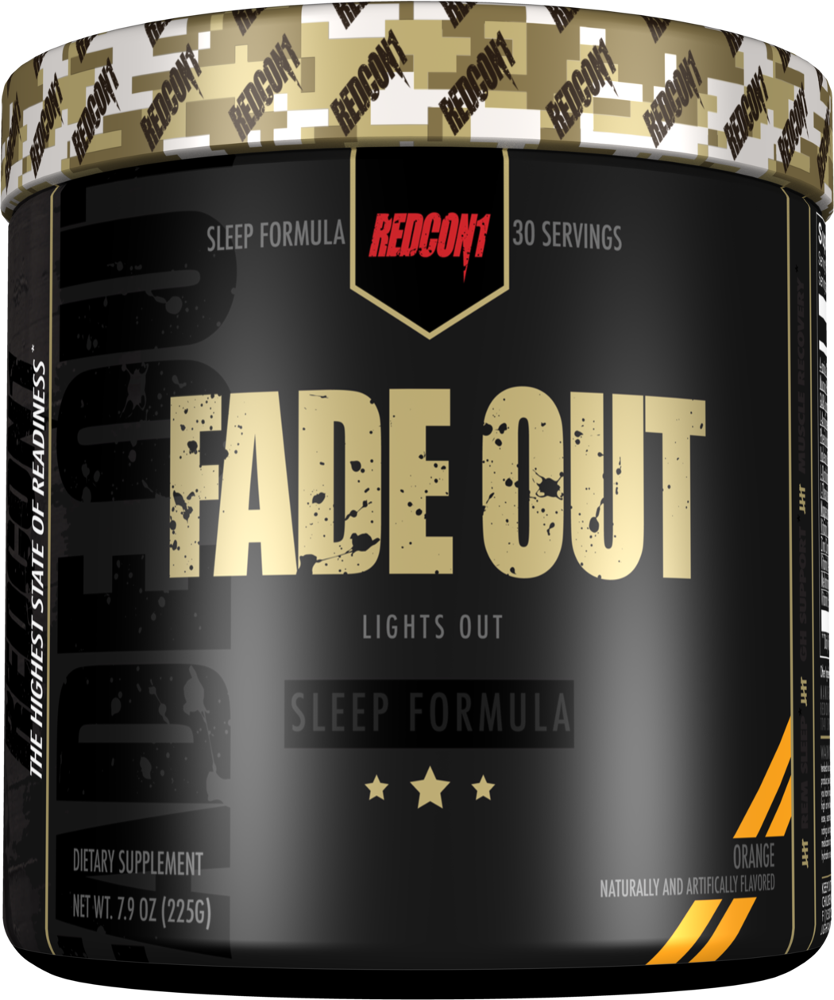 RedCon1 Fade Out - 30 Servings Orange
