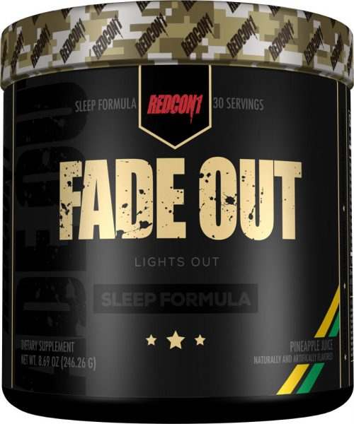 RedCon1 Fade Out - 30 Servings Pineapple Juice