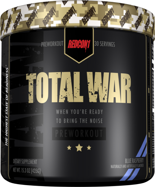 RedCon1 Total War - 30 Servings Blueberry Lemonade