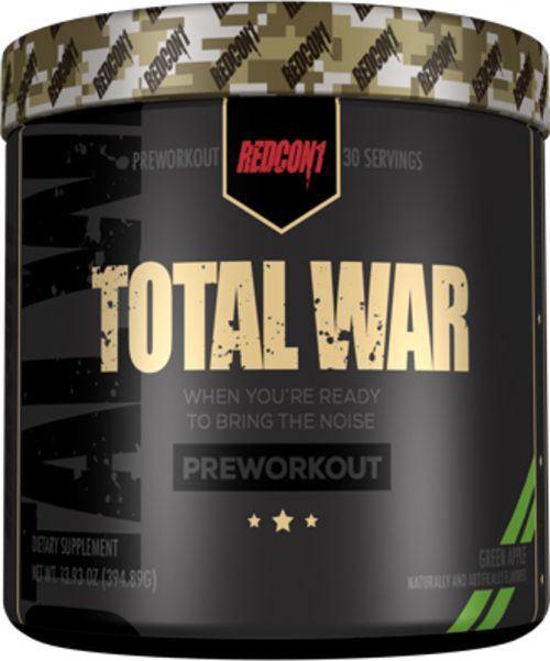 RedCon1 Total War - 30 Servings Green Apple