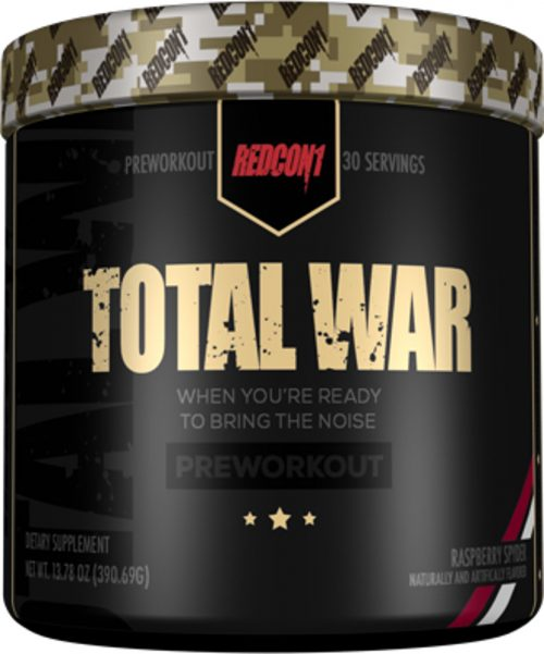 RedCon1 Total War - 30 Servings Raspberry Spyder