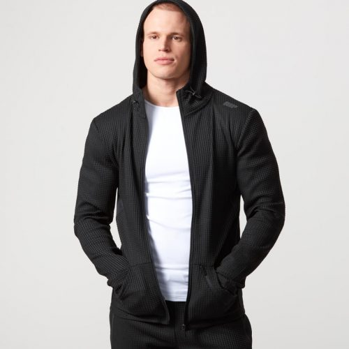 Reflect Zip - Up Hoodie - Black - XL