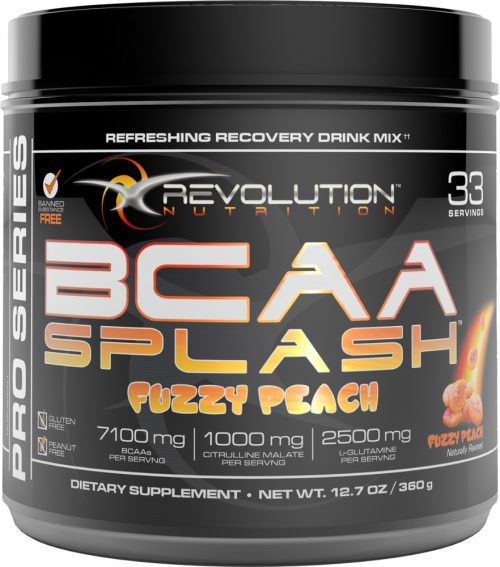 Revolution Nutrition BCAA Splash - 33 Servings Fuzzy Peach