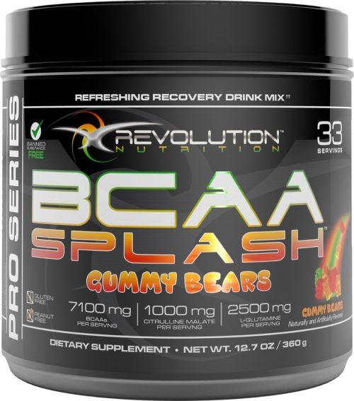 Revolution Nutrition BCAA Splash - 33 Servings Gummy Bears