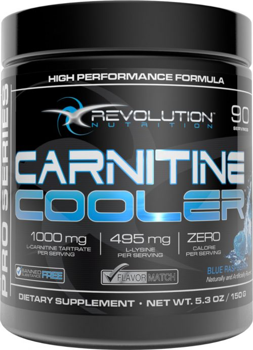 Revolution Nutrition Carnitine Cooler - 90 Servings Blue Raspberry