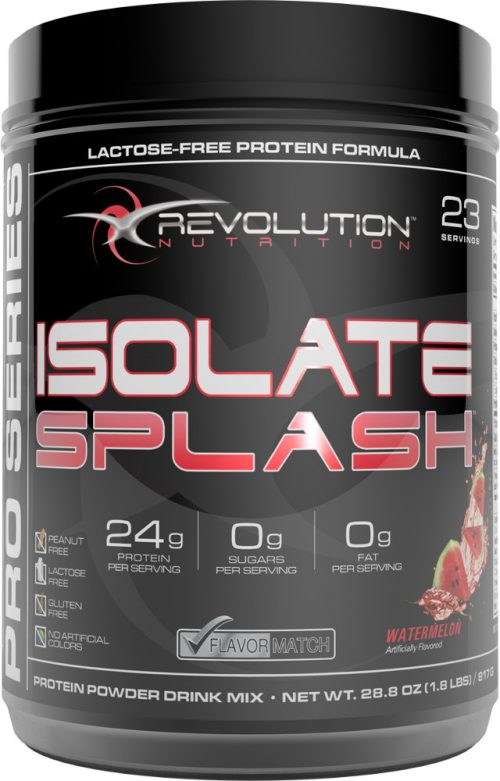 Revolution Nutrition Isolate Splash - 23 Servings Watermelon