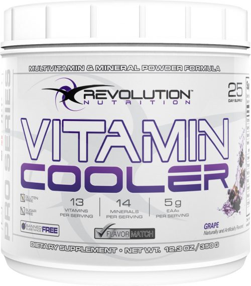 Revolution Nutrition Vitamin Cooler - 25 Servings Grape