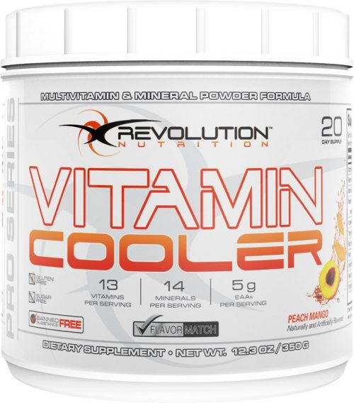 Revolution Nutrition Vitamin Cooler - 25 Servings Peach Mango