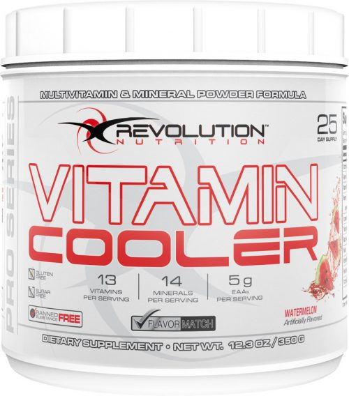 Revolution Nutrition Vitamin Cooler - 25 Servings Watermelon