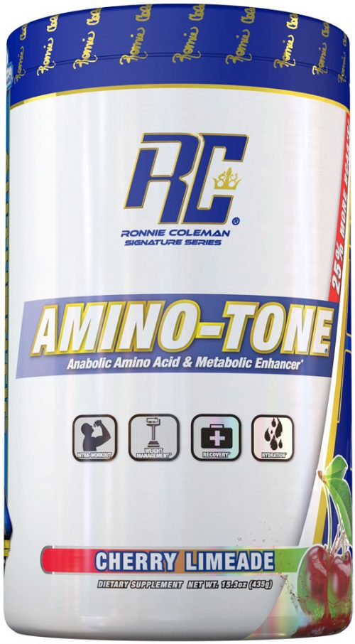 Ronnie Coleman Signature Series Amino-Tone - 30 Servings Cherry Limead