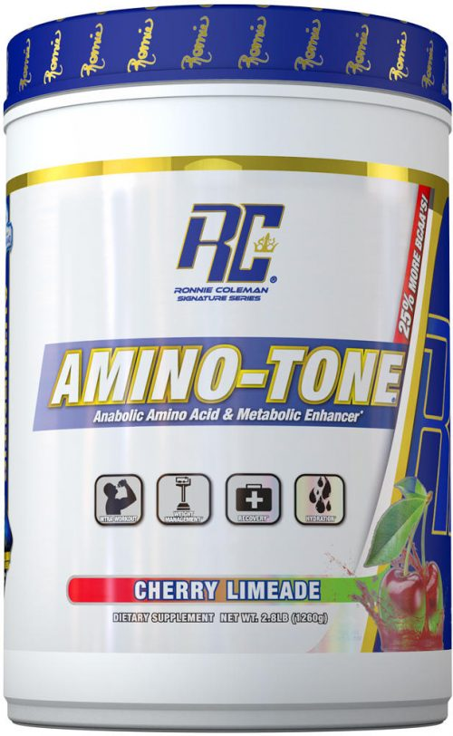 Ronnie Coleman Signature Series Amino-Tone - 90 Servings Cherry Limead