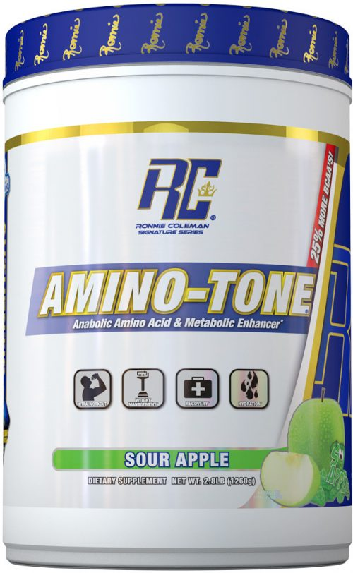 Ronnie Coleman Signature Series Amino-Tone - 90 Servings Sour Apple