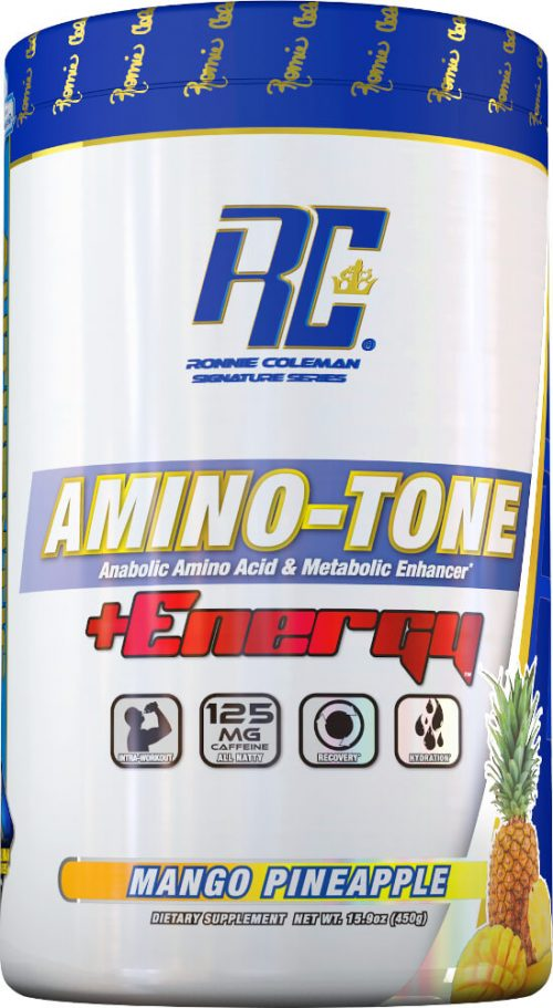 Ronnie Coleman Signature Series Amino-Tone + Energy - 30 Servings Mang