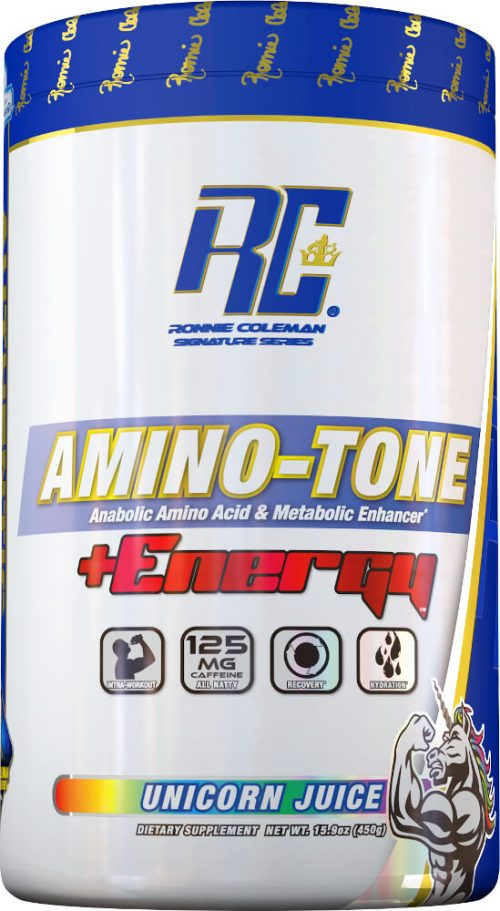 Ronnie Coleman Signature Series Amino-Tone + Energy - 30 Servings Unic