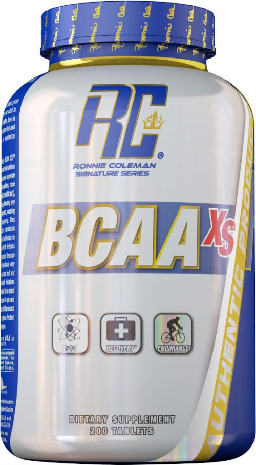 Ronnie Coleman Signature Series BCAA-XS - 200 Tablets