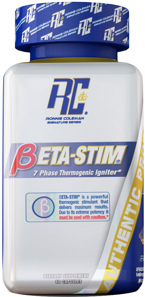 Ronnie Coleman Signature Series Beta-Stim - 60 Capsules