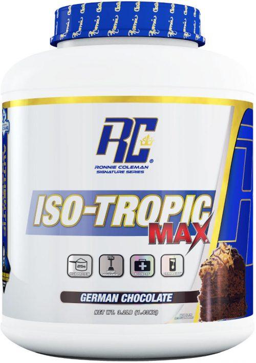 Ronnie Coleman Signature Series Iso-Tropic Max - 3.2lbs German Chocola