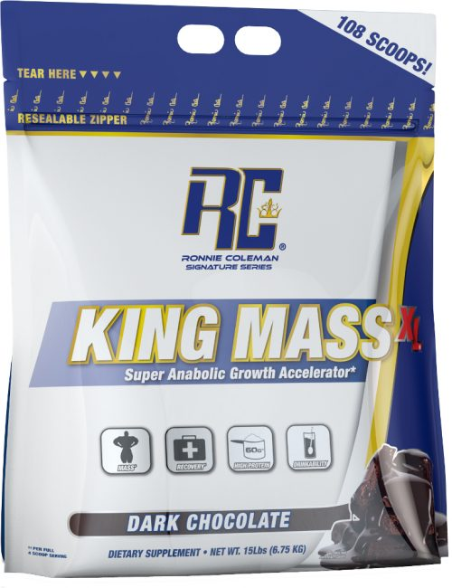 Ronnie Coleman Signature Series King Mass XL - 15lbs Dark Chocolate