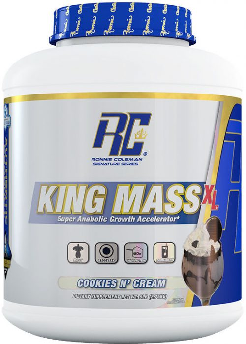 Ronnie Coleman Signature Series King Mass XL - 6lbs Cookies & Cream
