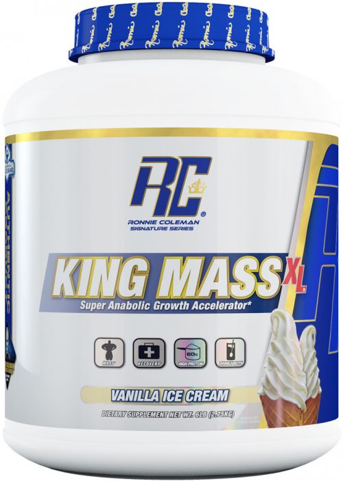 Ronnie Coleman Signature Series King Mass XL - 6lbs Vanilla Ice Cream