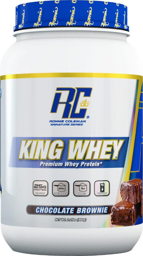 Ronnie Coleman Signature Series King Whey - 2lbs Chocolate Brownie
