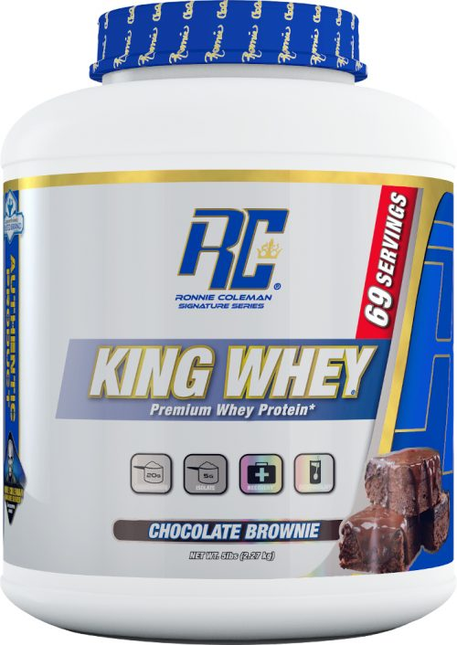 Ronnie Coleman Signature Series King Whey - 5lbs Chocolate Brownie