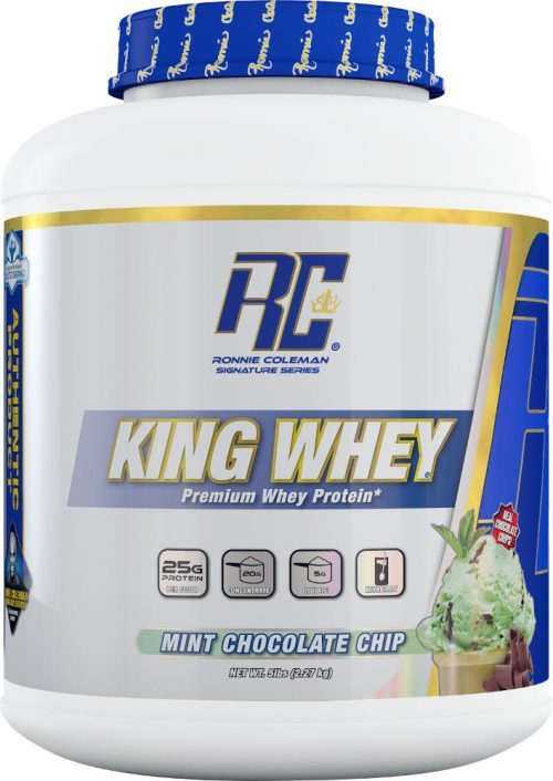 Ronnie Coleman Signature Series King Whey - 5lbs Mint Chocolate Chip
