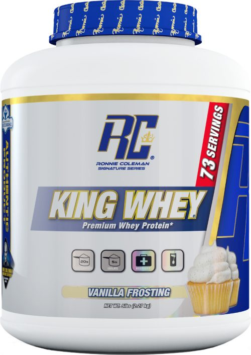Ronnie Coleman Signature Series King Whey - 5lbs Vanilla Frosting