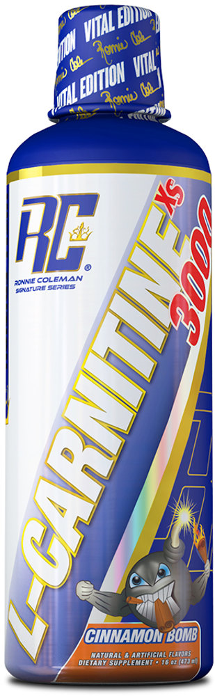 Ronnie Coleman Signature Series L-Carnitine - 32 Servings Cinnamon Bom