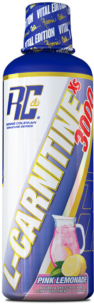 Ronnie Coleman Signature Series L-Carnitine - 32 Servings Pink Lemonad
