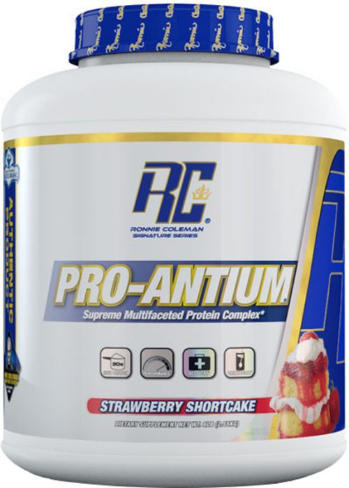 Ronnie Coleman Signature Series Pro-Antium - 5.6lbs Strawberry Shortca