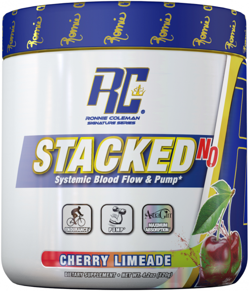 Ronnie Coleman Signature Series Stacked-N.O. - 30 Servings Cherry Lime