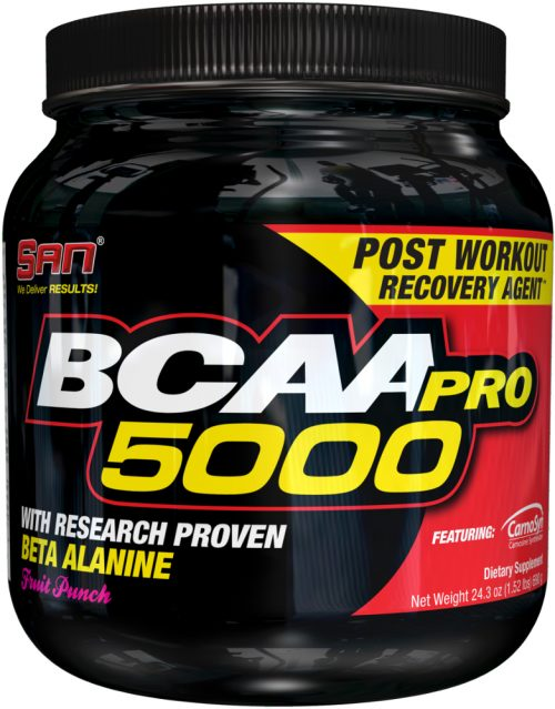 SAN BCAA-Pro 5000 - 100 Servings Fruit Punch