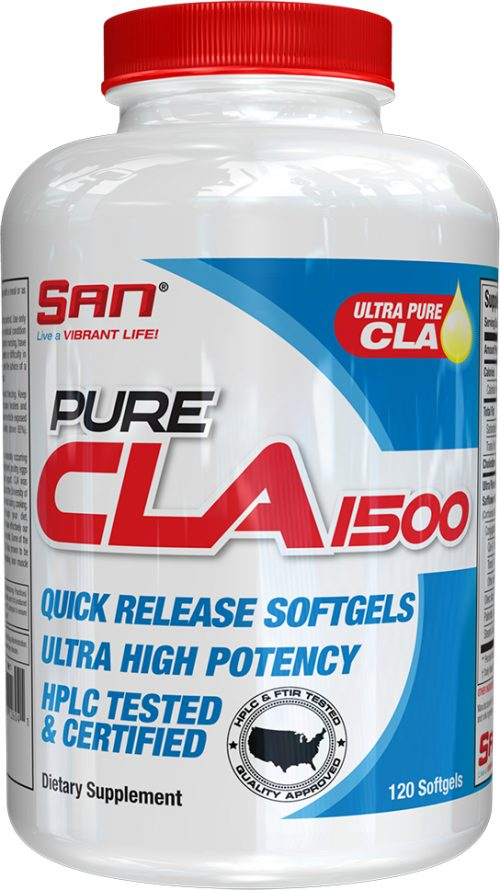 SAN Pure CLA 1500 - 120 Softgels