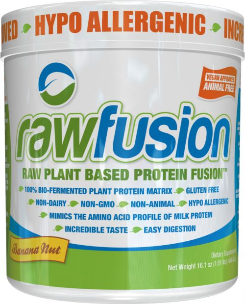 SAN Raw Fusion - 1lb Banana Nut