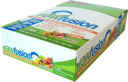 SAN Raw Fusion Bars - Box of 12 Chocolate Coconut Chunk