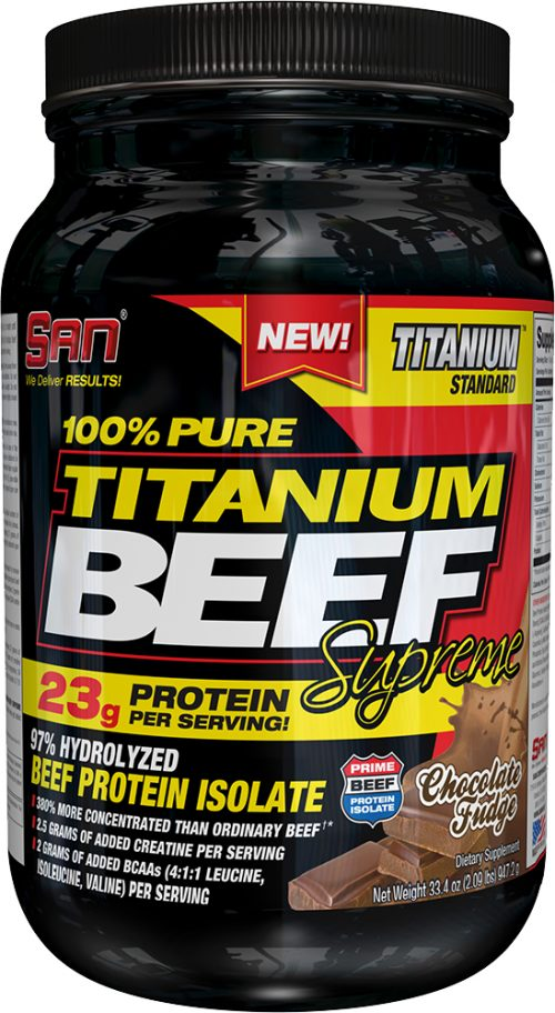 SAN Titanium Beef Supreme - 2lbs Chocolate Fudge