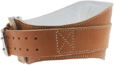 "Schiek Sports Model 2006 6"" Lifting Belt - Natural Leather Large"