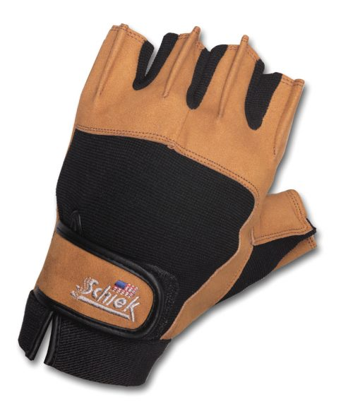 Schiek Sports Model 415 Power Lifting Gloves - Tan/Black XXL