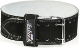 Schiek Sports Model L6010 Double Prong Competition Belt - Black Small