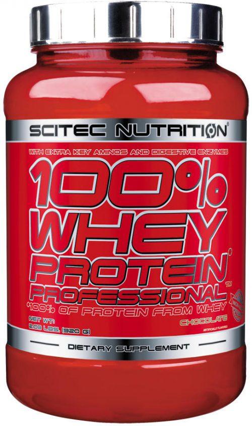 Scitec Nutrition 100% Whey Protein Professional - 30 Servings Lemon Ch