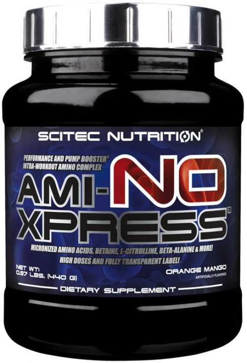 Scitec Nutrition Ami-NO Xpress - 20 Servings Peach Iced Tea