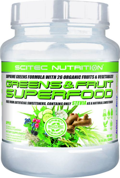 Scitec Nutrition Greens & Fruit Superfood - 30 Servings Apple