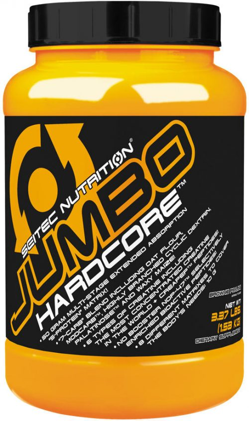 Scitec Nutrition Jumbo Hardcore - 3.37lbs Banana Yogurt