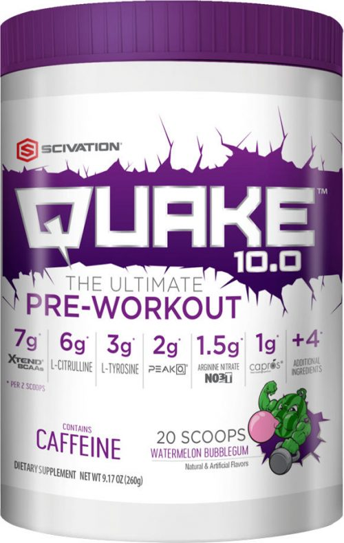 Scivation Quake 10.0 - 20 Servings Watermelon Bubblegum