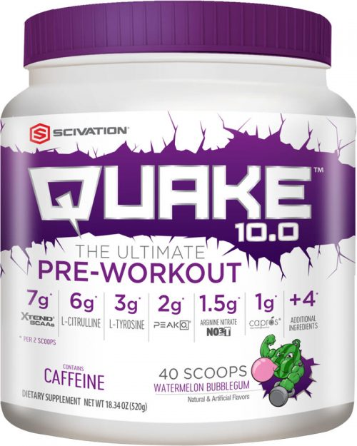Scivation Quake 10.0 - 40 Servings Watermelon Bubblegum