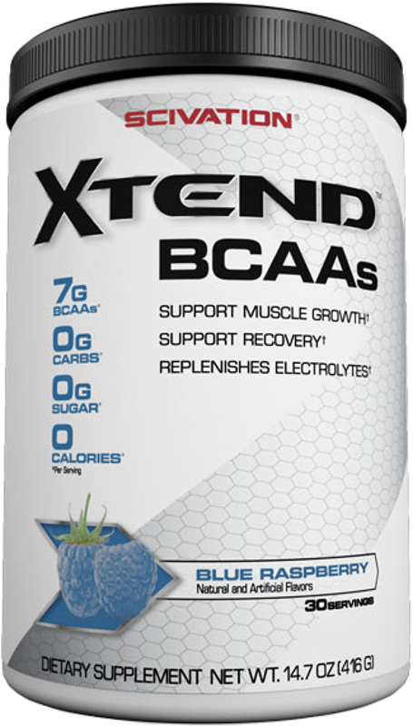 Scivation Xtend - 30 Servings Refreshing Blue Raspberry