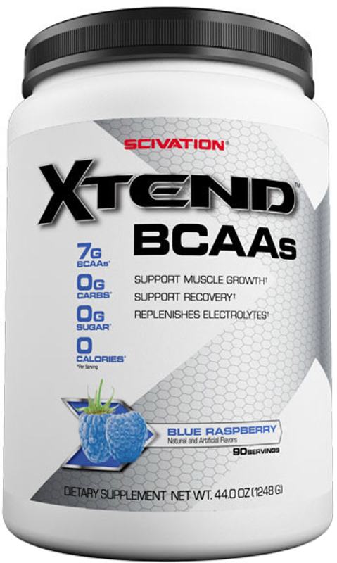 Scivation Xtend - 90 Servings Refreshing Blue Raspberry