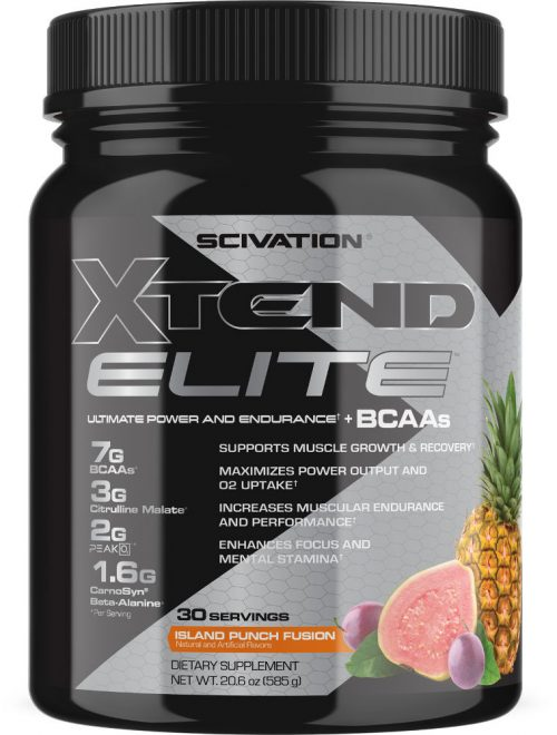 Scivation Xtend Elite - 30 Servings Island Punch Fusion